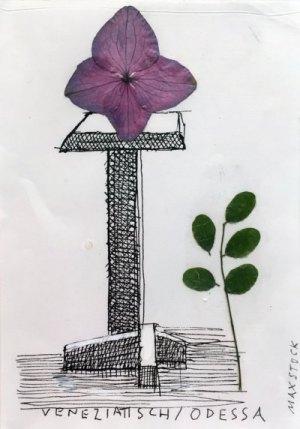 Zeichnung Veneziatisch-Odessa