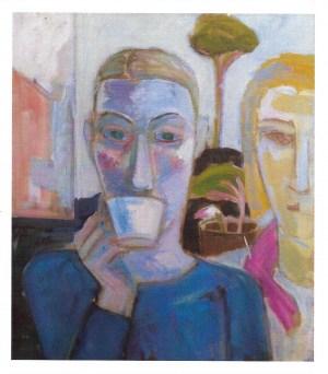 Doris und Ellen, 1997, Öl/Leinwand, 75x65