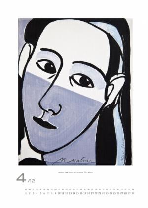 April 2012 | Malina, 2006, Acryl auf Leinwand, 30x25 cm