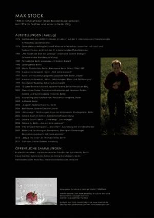 Kalender 2012 Letzte Seite