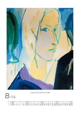 August 2014 | Juliane, Öl auf Leinwand, 1988