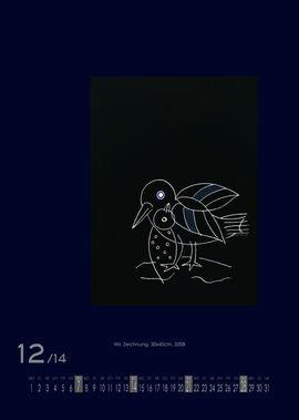 Dezember 2014 | Wir., Zeichnung, 30x40 cm, 2008