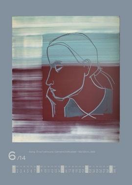 Juli 2014 | Klang, Öl auf Leinwand, Gemeinschaftsarbeit, 120x100 cm, 2002