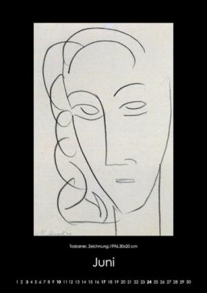 Juni 2018 | Toskaner. Zeichnung, 1996, 30x20 cm