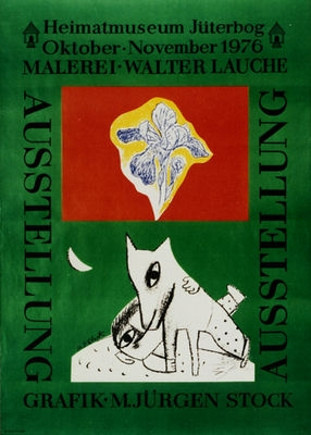 Plakat Heitmatmuseum Jüterborg