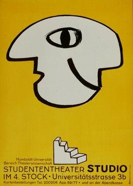 Plakat Studententheater (1979)