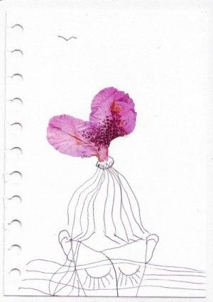Postkarte Blüten
