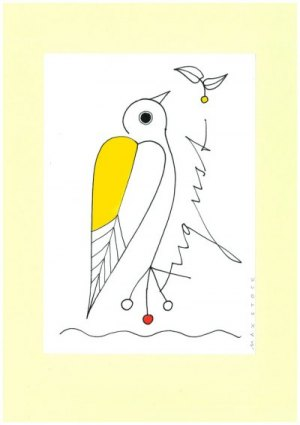 Vogel-Postkarte_August