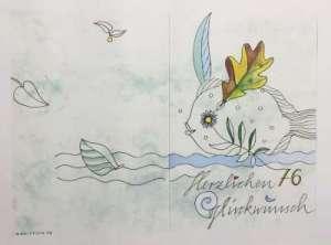 Glückwunschschreiben zum 76. Geburtstag von Günter Grass (2003)